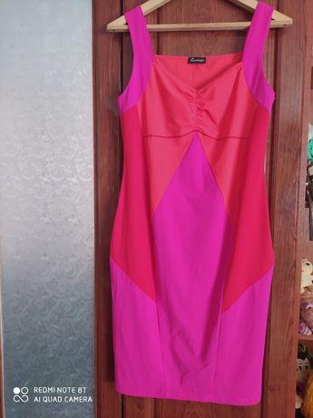 Стрейчевое платье 46р