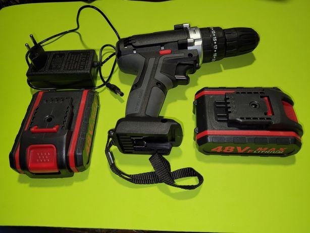 48v Aparafusadoras novas com 2 baterias e 1 carregador