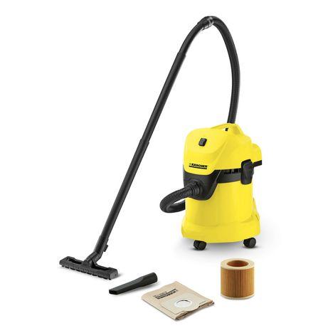 Пылесос сухой и влажной уборки Karcher WD 3 Пилосос для дому