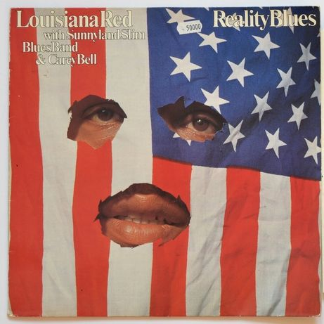 Louisiana Red Reality Blues płyta winylowa winyl LP