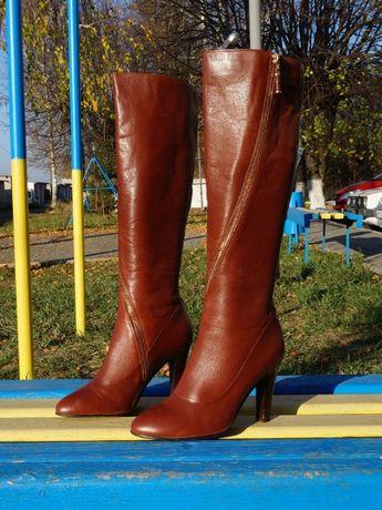 Жіночі шкіряні чоботи Helga S