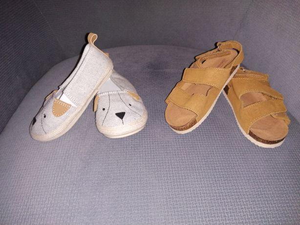 Buciki chłopięce, NOWE, rozmiar 22, Zara, H&M