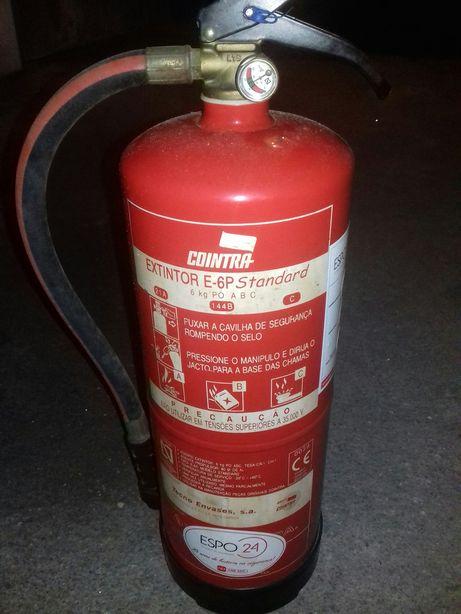 Extintor 6kg
