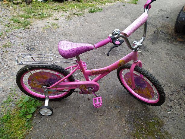 Велосипед для дівчинки 20д торг