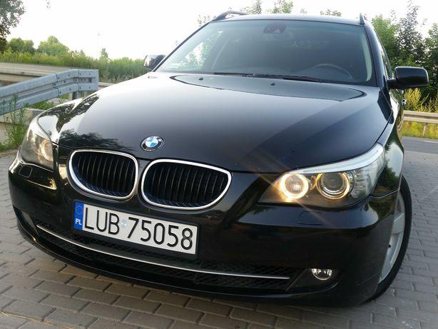 Piękne BMW-520D.163KM-Bezwypadkowe-Stan BDB-Prywatnie.