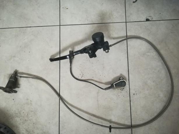Pompa sprzęgła Wysprzęglik Potencjometr BMW r 1200 GS K25 2011