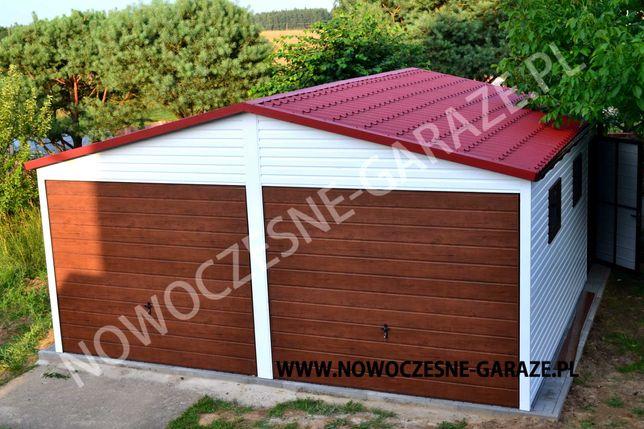 Nowoczesne garaże blaszane, najwyższa jakość !