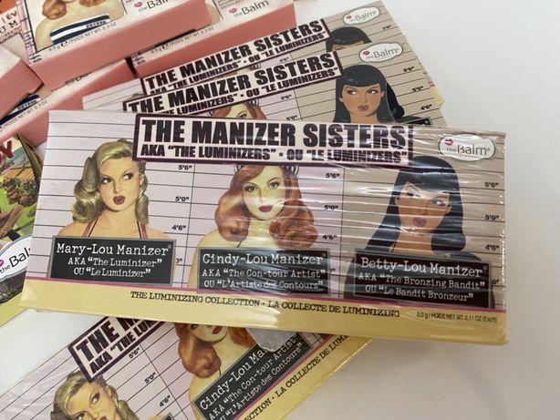 Распродажа набор/палетка Хайлайтеров theBalm The Manizers Sisters
