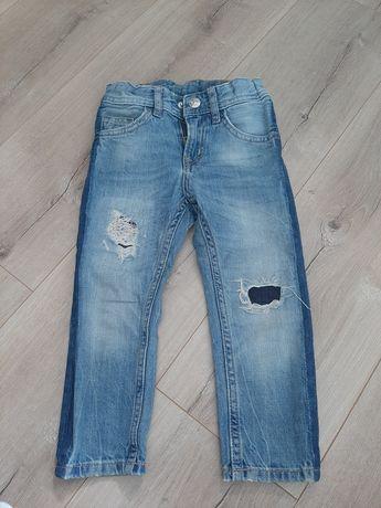 Spodnie h&m TAPERED 92