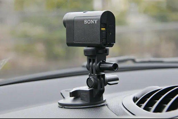 Резиновая суперприсоска Sony VCT-SCM1 для экшн-камер Gopro регистратор