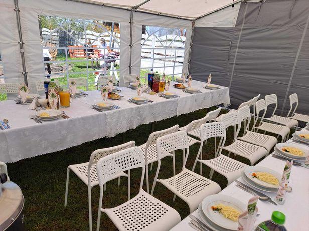 wynajem namiotów stołów  krzeseł parasoli grzewczych