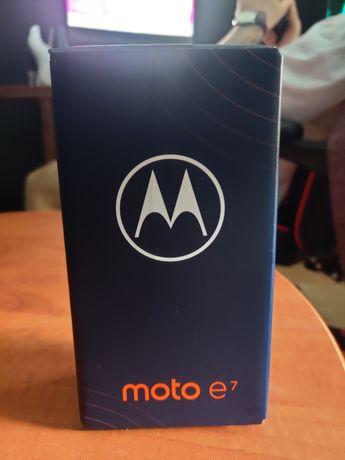 Motorola e7 (Nowa , oryginalnie zapakowana)