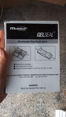 Соеденитель для ремонта кабеля с гелевым уплотнением, многоканальный