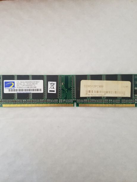 Memória RAM 512Mb Pc3200
