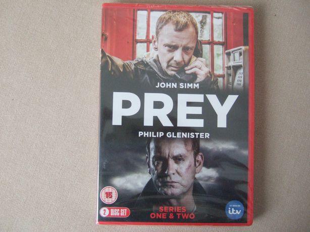 dwa sezony serialu Prey, nowy, wersja angielska