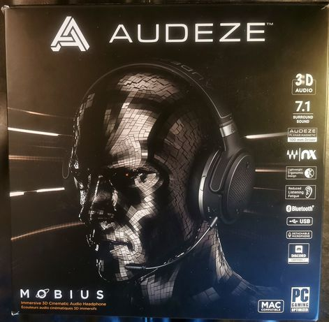 Audeze Mobius słuchawki do komputera i telefonu
