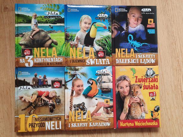 Ksiazki Mala reporterka Nela. National Geographic