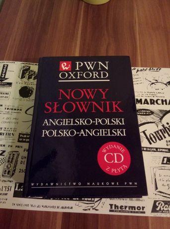 NOWY SŁOWNIK PWN OXFORD ang-pol,pol-ang + płyta CD