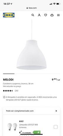 Candeeiros IKEA