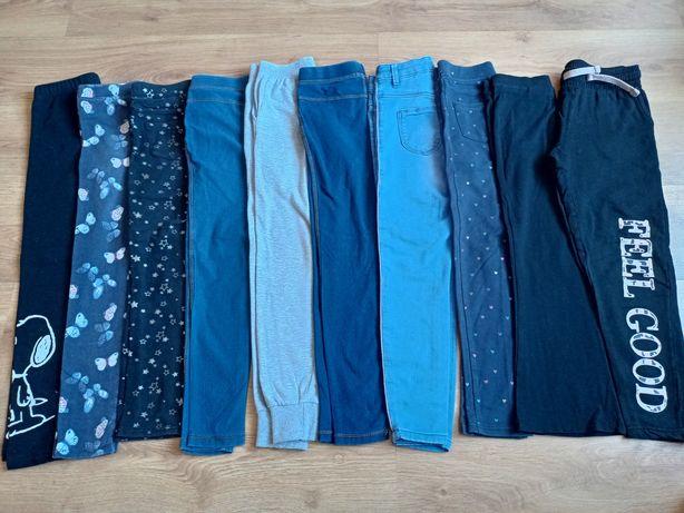Zestaw spodnie r.134cm na szczupłe dziecko