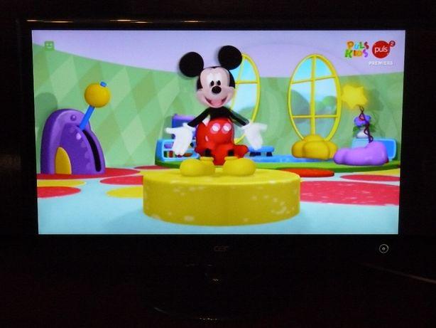 Telewizor monitor Acer z telewizją dvb-t naziemna 23 cali pilot hdmi