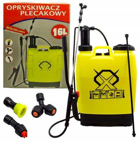 Opryskiwacz ciśnieniowy plecakowy 20l ręczny 3xdysza (OGR27)