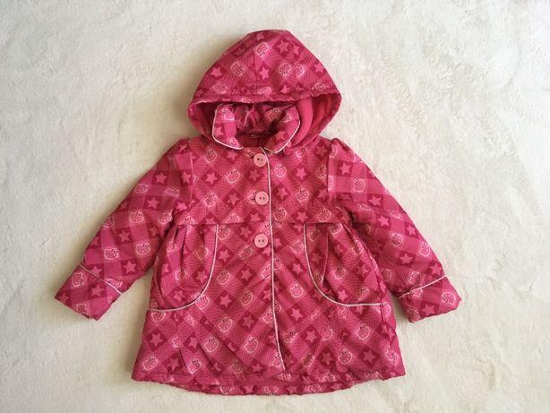 Плащ пальто куртка демисезонная Sanrio Hello Kitty 3-4 года