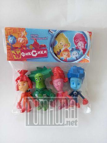 Игровой набор героев фигурок Фиксики 4 фигурки игрушки Помогатор