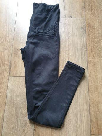 Spodnie ciążowe hm h&m 34 xs czarne