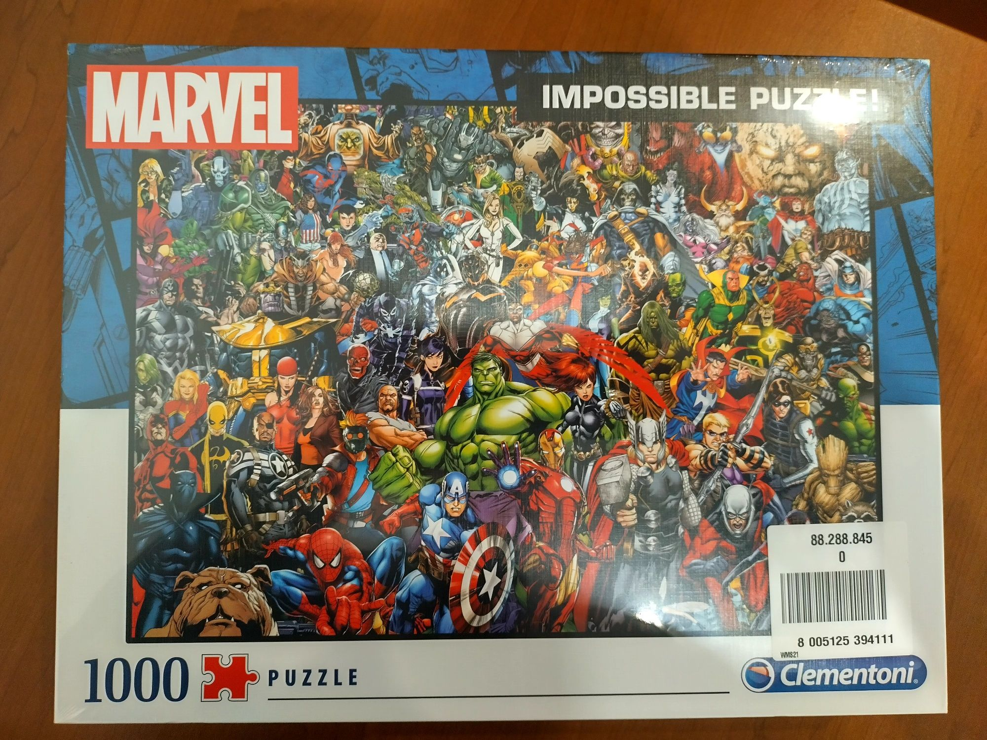 Пазли Marvel Супергерої Марвел 1000шт.