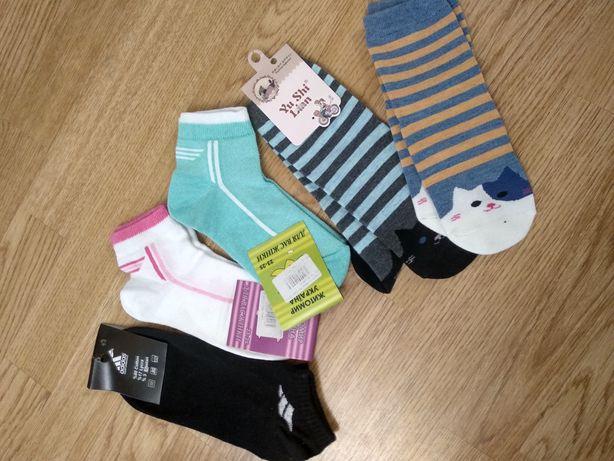 Носки носочки женские новые