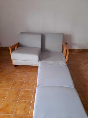"""Sofá cama """"cambalhota"""" de dois lugares"""