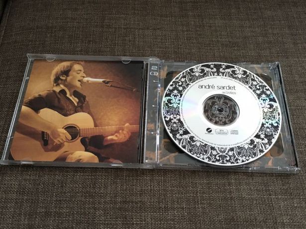 CD duplo Andre Sardet