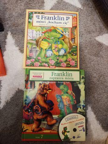 Książeczki z serii Franklin
