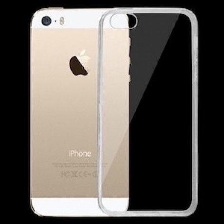 Бесцветный прощрачный TPU чехол для iPhone trasparent
