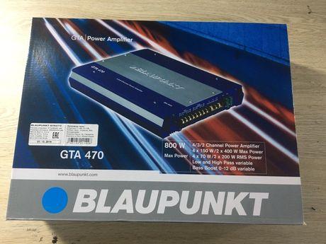 4х канальный усилитель blaupunkt GTA 470 НОВЫЙ