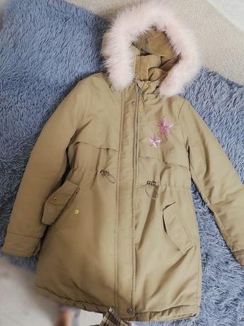 Куртка-Парка холодная осень, тёплая зима
