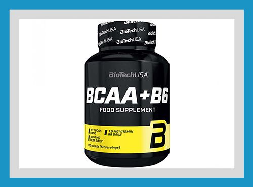 Купить Аминокислоты BCAA+B6 (100 таблеток) от Biotech USA АКЦИЯ!!!