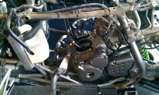 Silnik Suzuki LTZ 400 drz wszystkie części silnikowe