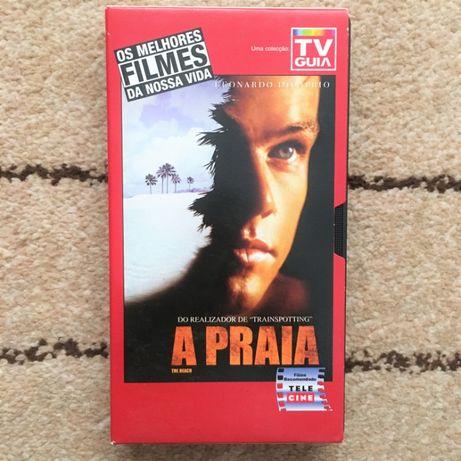 Filme VHS Cassette - A Praia, 2000
