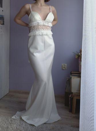 Suknia ślubna Lexi 38 Model Zarha boho styl rustykalny