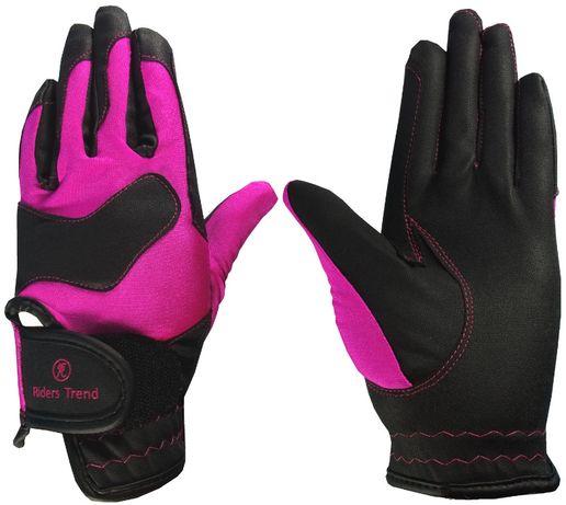 Rękawiczki do jazdy konnej Riders Trend M