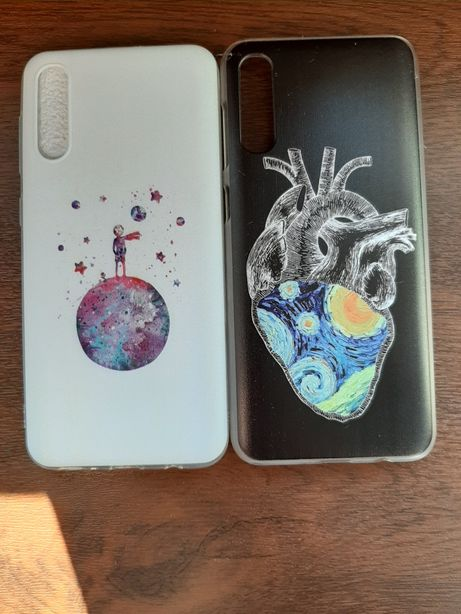 Case etui Samsung Galaxy A50 Mały Książę serce Van Gogh