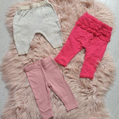 Modne spodnie dla małej dziewczynki