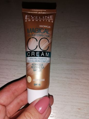 Eveline Magical CC cream 50 light beige