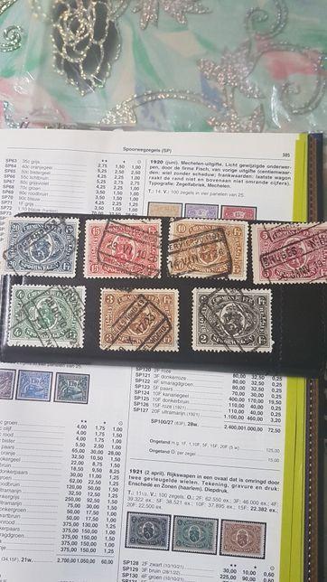 Znaczki pocztowe Belgia