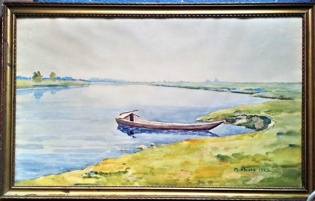 Obraz - Maciej Hłasko, 1929, akwarela, 45,5 x 73cm