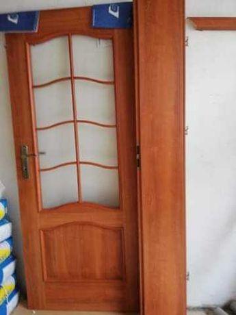 Drzwi pokojowe i do łazienki 80 cm z ościeznicami regulowanymi 30 cm