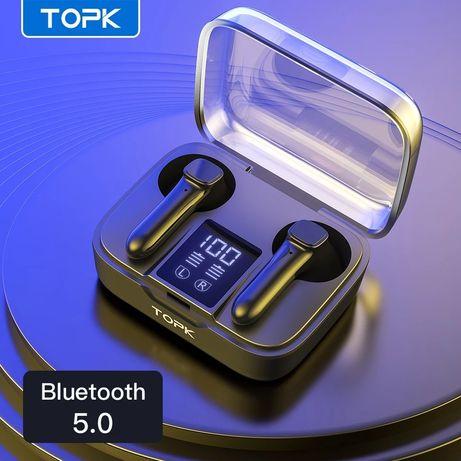 Беспроводные сенсорные TWS наушники TOPK T20 Black