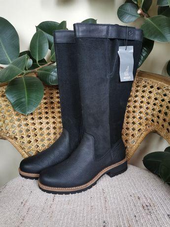 Сапоги, сапожки женские ECCO демисезонные на молнии, обувь